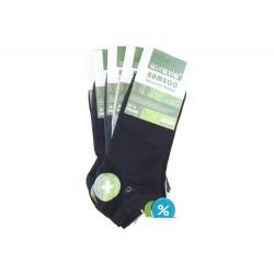 Pánské kotníkové bambusové ponožky FFD3361 - 5 párů - Auravia