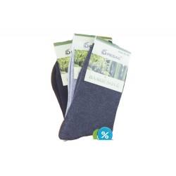 Dámské bambusové ponožky SN1100B - 3 páry - Pesail