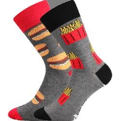 Unisex ponožky - Fastfood - Voxx