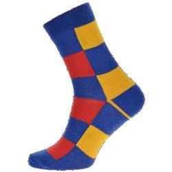 Unisex ponožky - Barevné kostky - WiTSocks