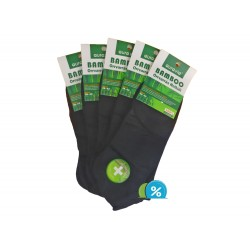Pánské kotníkové bambusové ponožky FFD281 - 5 párů - Auravia