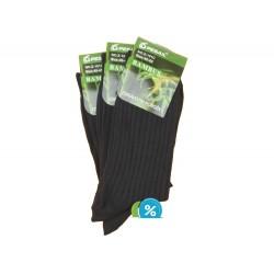 Pánské bambusové zdravotní klasické ponožky Z-101C - 3 páry - Pesail