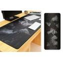 Podložka na pracovní stůl - mapa světa - 40 x 90 cm