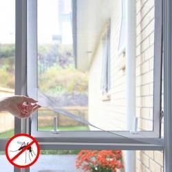 Okenní síť proti komárům - nalepovací -  bílá - InnovaGoods