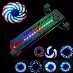 Světlo do výpletu jízdního kola LC-D016 - 32 LED - Wheelight