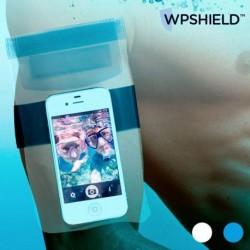 Voděodolné pouzdro na mobilní telefon - modré - WpShield