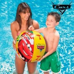 Nafukovací plážový míč - Auta