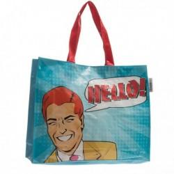 Plážová taška Comic Bubble - Ahoj! - Fashinalizer