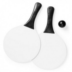 Plážová sada na ping pong 144578 - 2 pálky + míček