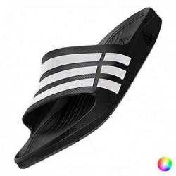 Pánské pantofle - Duramo Slide - černobílé - Adidas