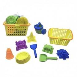 Sada hraček na písek - světové památky - 9 ks