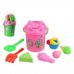 Sada hraček na písek - sladkosti - 9 ks