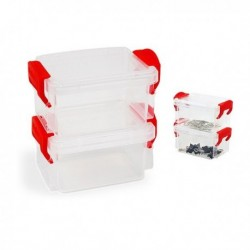 Sada stohovatelných hermeticky uzavřených boxů - 2 ks - Confortime