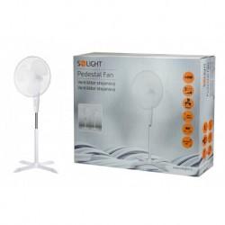 Stojanový ventilátor 1S22 - 40 cm - 45 W - bílý - Solight