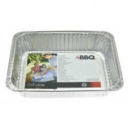 Grilovací hliníkový tácek BBQ - 36 x 29 x 7,5 cm