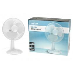 Stolní ventilátor - 30 cm - 45 W - bílý - Excellent Electrics