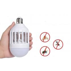 Elektrická žárovka s lapačem hmyzu