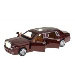 Kovové autíčko Rolls-Royce Phantom se zvukem a světlem - měřítko 1:28