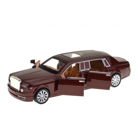 Kovové autíčko Rolls-Royce se zvukem a světlem - měřítko 1:28