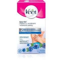 Voskové pásky pro citlivou pokožku podpaží - 16 ks - Veet