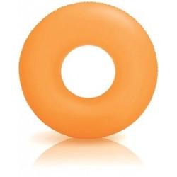 Nafukovací kruh - neonově oranžový - 91 cm - Intex