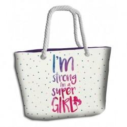 Plážová taška - Super Girl - Euroswan