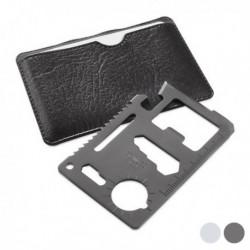 Víceúčelová kartička pro kutily 144208 - 8 v 1 - stříbrná - Gadget and Gifts