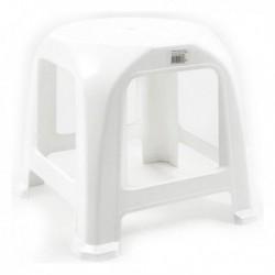 Plastová stolička Step - 34 x 34 x 31 cm - bílá