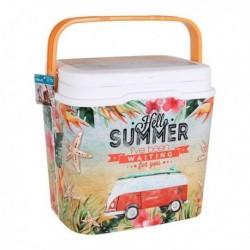 Přenosný chladící box Exotic Summer - 5 l