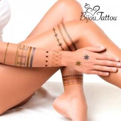 Dočasné tetování Bijou Tattou - InnovaGoods