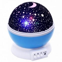 Projektor noční oblohy - modrý