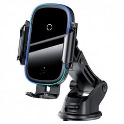 Bezdrátová nabíječka do auta WXHW03-01 - 15 W - černá - Baseus