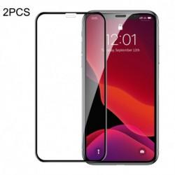 Nárazuvzdorné tvrzené sklo pro Apple iPhone 11/XR Q/SSCZ 004-2020 - 2 ks - Baseus