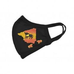 Textilní rouška - Španělský býk - 1 ks