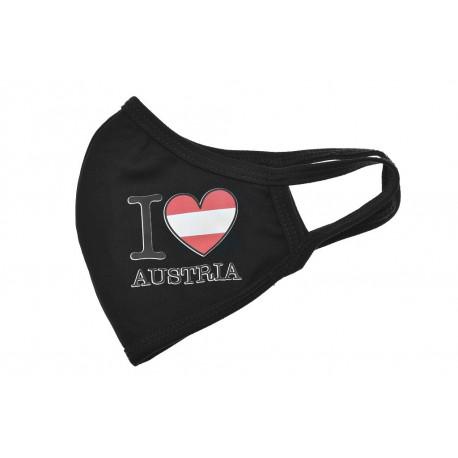 Textilní rouška - I Love Austria - 1 ks