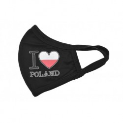Textilní rouška - I Love Poland - 1 ks