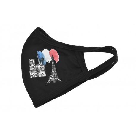 Textilní rouška - Paříž - 1 ks