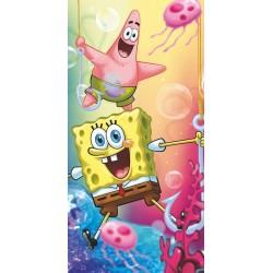 Osuška - Sponge Bob a Patrick - 140 x 70 - Jerry Fabrics