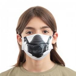 Hygienické roušky na více použití - plynová maska - 3 ks - velikost M - Luanvi