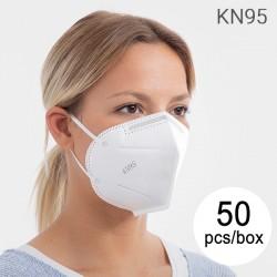 Samofiltrovací respirátor s 5 vrstvami KN95 - 50 ks