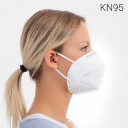 Samofiltrovací respirátor s 5 vrstvami KN95 - 1 ks