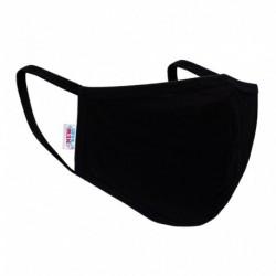 Textilní rouška na více použití - černá - New Baby