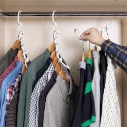Věšák na ramínka na 40 oděvů - InnovaGoods