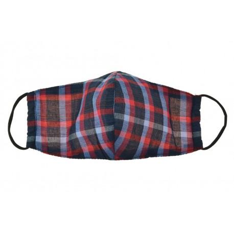 Textilní rouška na více použití - pruhovaná