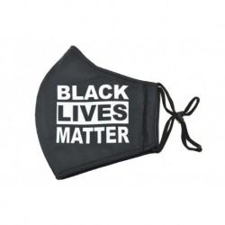 Textilní rouška na více použití - BLACK LIVES MATTER
