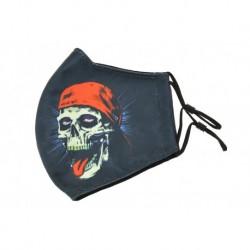 Textilní rouška na více použití - Skull cap