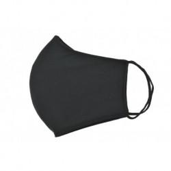 Textilní rouška na více použití - černá