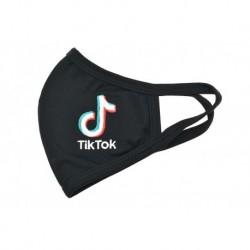 Textilní rouška na více použití - vyšívaná - TikTok