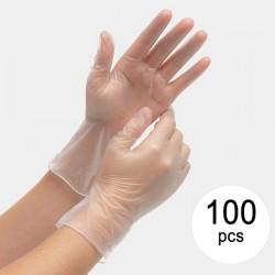Vinylové rukavice na jedno použití GVI-02 - 100 ks