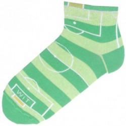 Kotníkové unisex ponožky - fotbalové hřiště - WiTSocks